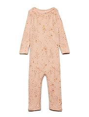 Soft Gallery Ben Bodysuit - PEACH PERFECT, AOP MINI SPLASH ROSE