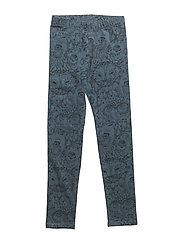 Soft Gallery Paula Junior Leggings - ORION BLUE, AOP OWL