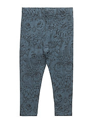 Soft Gallery Paula Baby Leggings - ORION BLUE, AOP OWL
