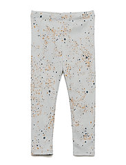 Paula Baby Leggings - OCEAN GREY, AOP MINI SPLASH BLUE