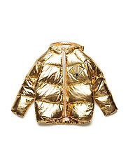 Barby Jacket - GOLD, TERRY FAN