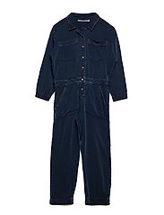 Bernelle Jumpsuit - DARK DENIM WASH, OPTIMISTIC