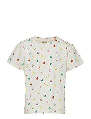 Dominique T-shirt - PRISTINE, AOP FRUITY