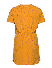 Delina Dress - SUNFLOWER, AOP CLOVER