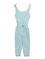 Soft Gallery Deborah Jumpsuit - BLUE TINT, AOP RAINBOW
