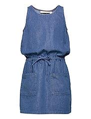 Darla Dress - DENIM BLUE