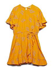 Dory Dress - SUNFLOWER, AOP LEMON