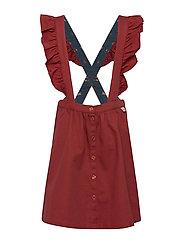 Dixie Skirt - BURNT HENNA