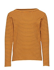 Emmanuel T-shirt - INCA GOLD, AOP DOUBLE RIBBON