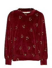 Era Sweatshirt - TAWNY PORT, AOP WINTERBERRY
