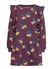Esmeralda Dress - WINETASTING, AOP BERRIES