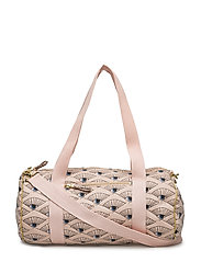 Quilted Bag Small - ROSE CLOUD, AOP EYEFAN