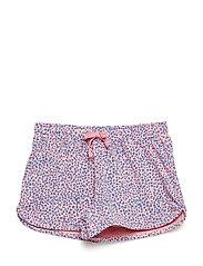 Doria Shorts - PINK ICING, AOP LEOSPOT