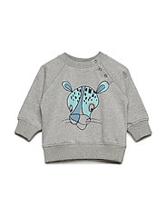 Alexi Sweatshirt - GREY MELANGE, CHEETAH