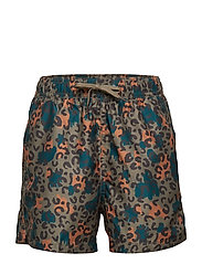 Dandy Swim Pants - FOSSIL, AOP CAMOLEO SWIM