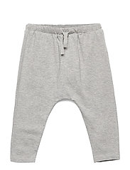 Hailey Pants - GREY MELANGE, SOFT OWL
