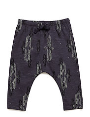 Hailey Pants - DARK SAPPHIRE, AOP NATIVE SMALL