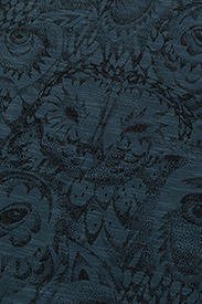 Soft Gallery - Owen Body - kurzärmelig - orion blue, aop owl - 2