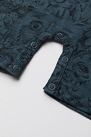 Soft Gallery - Owen Body - kurzärmelig - orion blue, aop owl - 3
