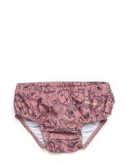 Soft Gallery - Mina Swim Pants - badehosen - burlwood, aop owl - 0