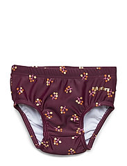 Mina Swim Pants - FIG, AOP WINTERBERRY SMALL