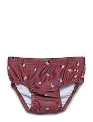 Soft Gallery Mina Swim Pants - RENAISSANCE ROSE, AOP COCKATOO SWIM