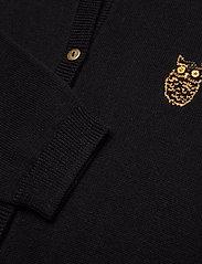 Soft Gallery - Mila Cardigan - gilets - jet black, mini owl emb. - 2