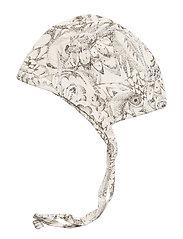 Soft Gallery - Hattie - hatte og handsker - cream, aop owl - 1