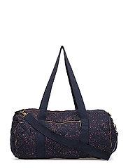 Big Quilted Bag - BLACK IRIS, AOP SPRINKLE