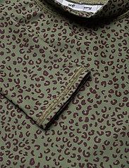 Soft Gallery - Astin Sun Shirt - koszulki - oil green, aop leospot - 2