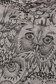 Soft Gallery - Anine Body - kurzärmelige - drizzle, aop owl - 2