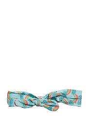 Bow Hairband - BLUE TINT, AOP RAINBOW