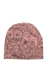 Beanie - BURLWOOD, AOP OWL
