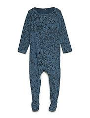 Nat Bodysuit - ORION BLUE, AOP OWL