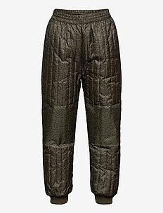 Morgan Thermo Pants - bottoms - kalamata, aop leospot m
