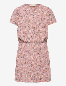 Hillaria Dress - kleider - woodrose, aop flowerberry