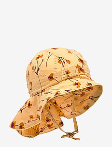 Val Hat - sun hats - golden apricot, aop buttercup