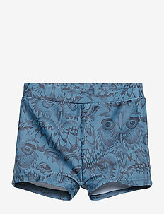 Don Swim Trunk - ORION BLUE, AOP OWL