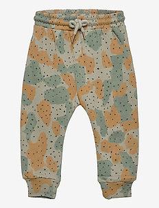Karl Pants - trousers - vetiver, aop cameodot b