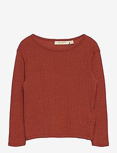 Bella T-shirt - long-sleeved t-shirts - burnt brick