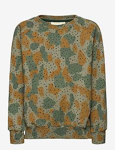Chaz Sweatshirt - sweatshirts - vetiver, aop cameodot b