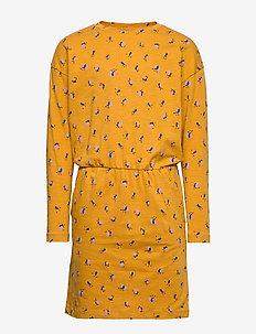 Vigdis Dress - INCA GOLD, AOP FLOWERBEE SMALL