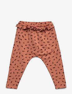 Cami Pants - TAWNY ORANGE, AOP CAMOMILE S
