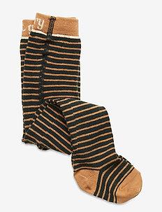 Baby Boys Tights - collants - jet black, stripe
