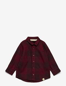 Baby Severin Shirt - chemises - syrah overdye
