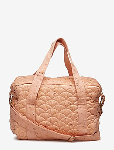 Nursery Bag - PEACH PERFECT, AOP MINI SPLASH ROSE