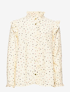 Tilde Shirt - TAPIOCA, AOP TRIO DOTTIES B