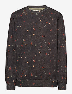 Konrad Sweatshirt - sweatshirts - aop terazzo blk