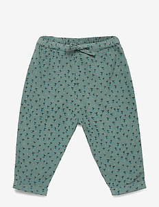 Cayson Pants - STORMY SEA, AOP EVERGREEN