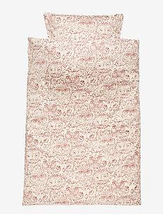 Bed Linen Baby - CREAM, AOP OWL MAHOGANY
